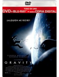 GRAVITY (DVD + Blu-Ray + Digital Copy)