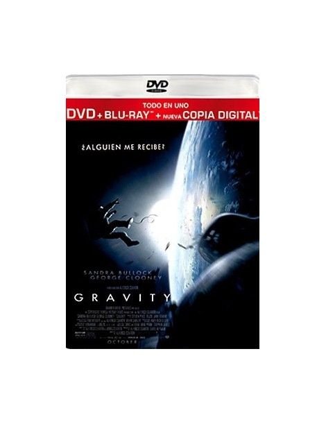 GRAVITY (DVD + Blu-Ray + Copia Digital)
