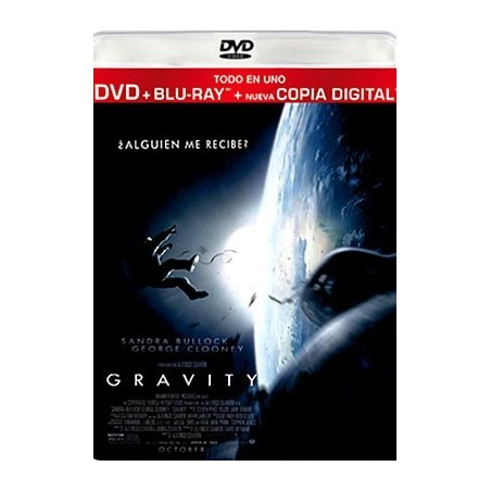 GRAVITY (DVD + Blu-Ray + Digital Copy)