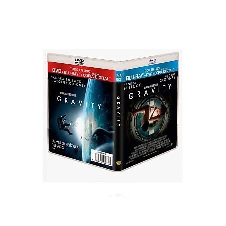 GRAVITY (DVD + Blu-Ray + Copia Digital)