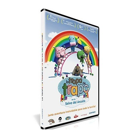 La tropa de trapo: En la Selva Arcoíris DVD