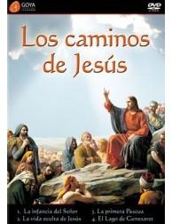 Serie de documentales en DVD LOS CAMINOS DE JESÚS