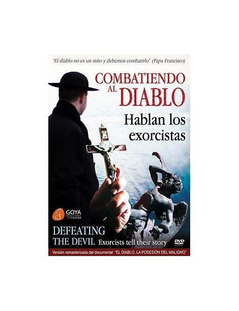 Documental en DVD COMBATIENDO AL DIABLO: HABLAN LOS EXORCISTAS