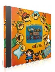 Las Canciones de La Casita sobre la Roca CD - Música religiosa para niños