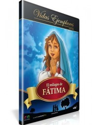 El Milagro de Fátima DVD Dibujos animados religiosos