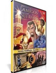 Amigos y Héroes 2 DVD DIbujos animados con valores