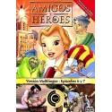 Amigos y Héroes 3 DVD Dibujos animados con valores