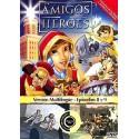Amigos y Héroes 4 DVD Dibujos animados con valores