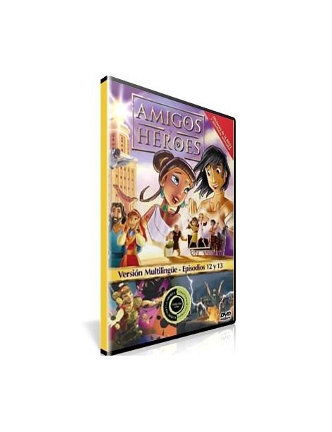 Amigos y Héroes 6 DVD Dibujos animados con valores