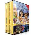 Pack: Amigos y Héroes DVD Dibujos animados con valores