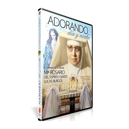 Adorando día y noche DVD video