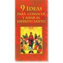 9 ideas para conocer y amar al Espíritu Santo LIBRO
