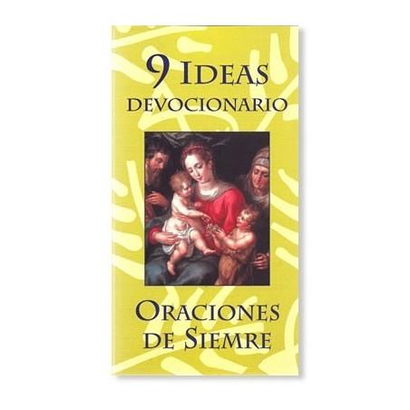 9 Ideas devocionario - Oraciones de siempre LIBRO