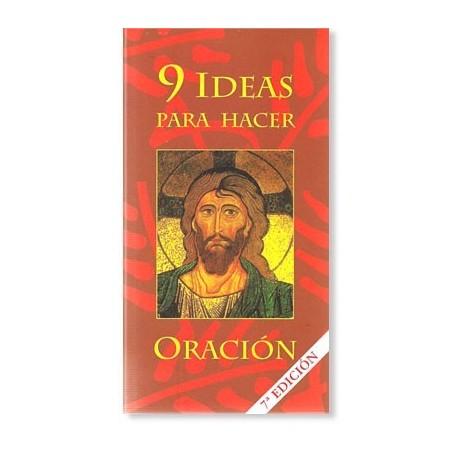 9 Ideas para hacer oración LIBRO