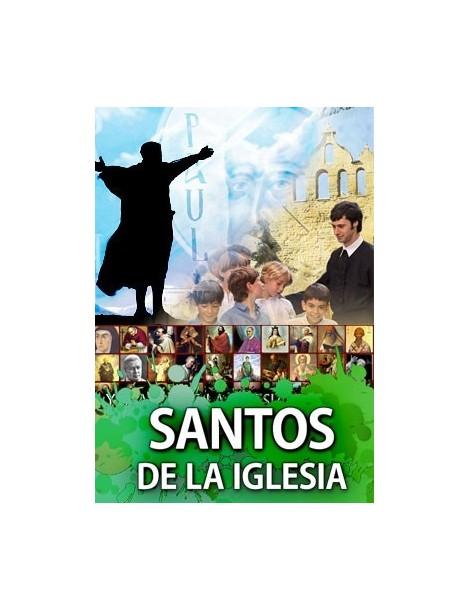 Pack Santos de la Iglesia DVD videos católicos