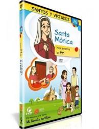Santa Mónica y la Fe DVD dibujos animados católicos