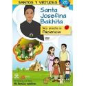 Santa Josefina Bakhita y la Paciencia DVD dibujos animados católicos