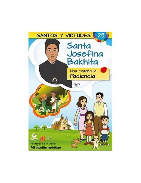 DVD de dibujos animados: Santa Josefina Bakhita y la Paciencia