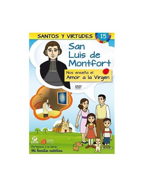 San Luis de Montfort y el Amor a la Virgen DVD dibujos animados católicos