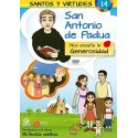 San Antonio de Padua y la Generosidad DVD dibujos animados católicos
