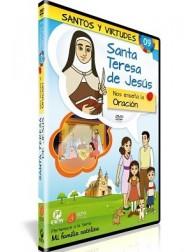 Santa Teresa de Jesús y la Oración DVD dibujos animados católicos