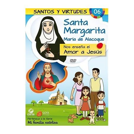 Santa Margarita María de Alacoque y el Amor a Jesús