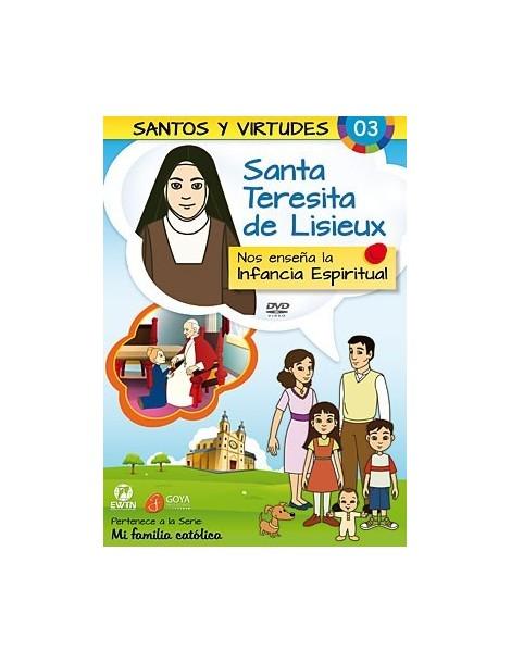 Santa Teresita de Lisieux y la Infancia Espiritual DVD dibujos animados católicos