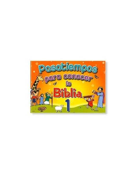 Pasatiempos para conocer la Biblia 1