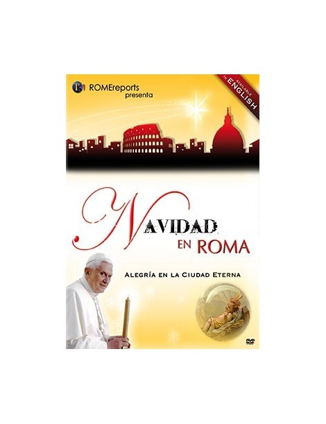 DOCUMENTAL en DVD: NAVIDAD EN ROMA