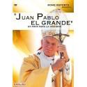 Juan Pablo II el Grande DVD video sobre la vida del Papa