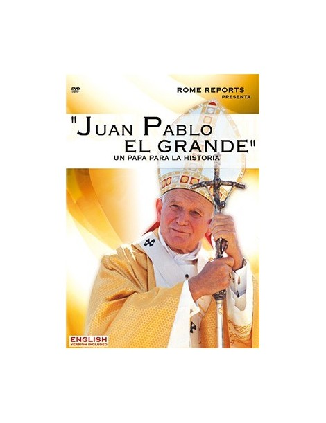 Documental en DVD Juan Pablo II el grande