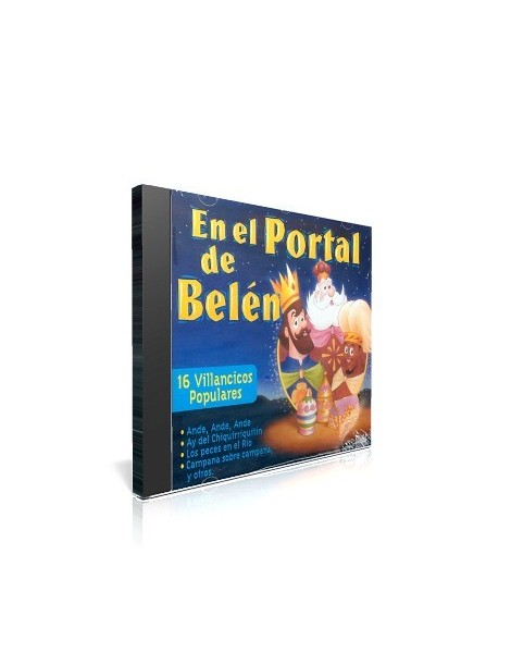 En el Portal de Belén CD de música religiosa para niños