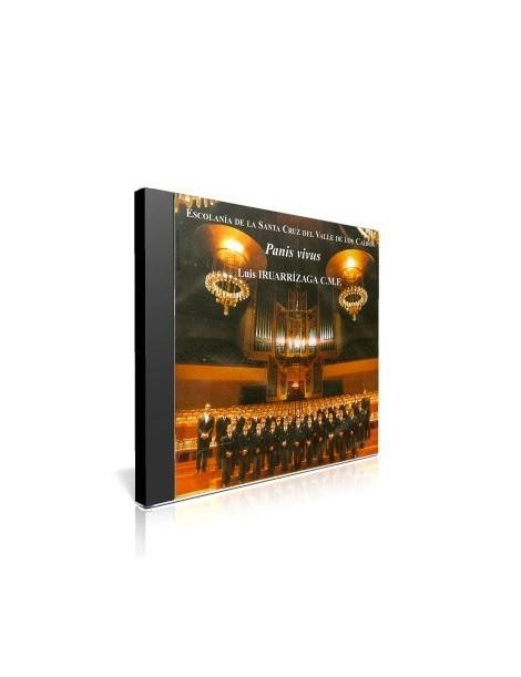 Panis Vivus: Escolanía de la Santa Cruz del Valle de los Caídos CD de música religiosa