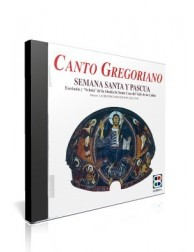 Canto Gregoriano: Semana Santa y Pascua CD de música religiosa