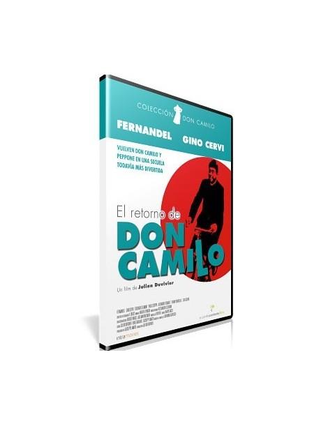 El Retorno de Don Camilo DVD película clasica recomendada