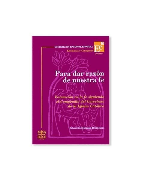 Para dar razón de nuestra fe LIBRO católico recomendado
