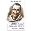 El Hno Rafael con quien conviví: Recuerdos íntimos LIBRO religioso recomendado