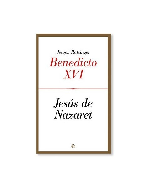 Jesús de Nazaret I (Edición de Bolsillo) LIBRO del Papa Benedicto XVI
