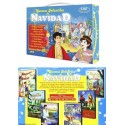 Maletín de Cuentos Infantiles de Navidad 6 DVD's de dibujos animados