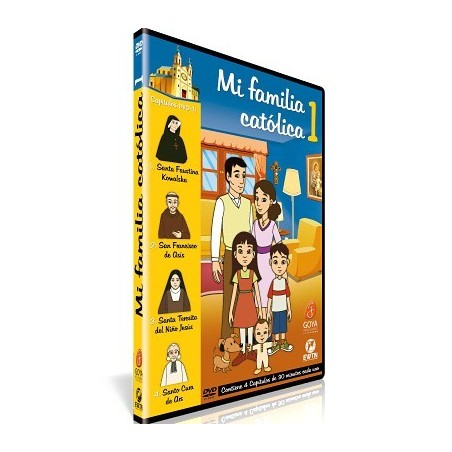 Santa Faustina Kowalska y la Misericordia DVD dibujos animados católicos