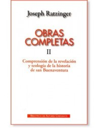 Obras Completas de Joseph Ratzinger II LIBRO del Papa Benedicto XVI