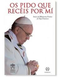 Os pido que recéis por mí LIBRO Papa Francisco