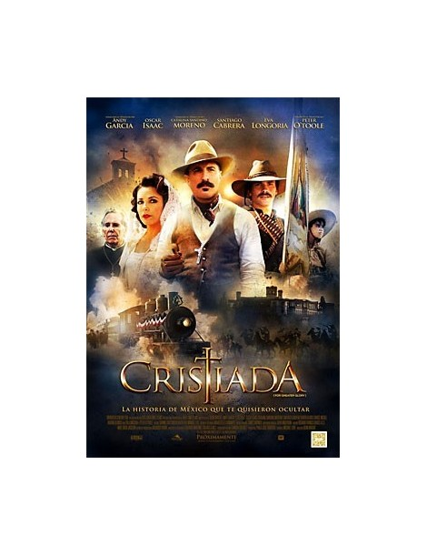 Película en DVD CRISTIADA (FOR GREATER GLORY)