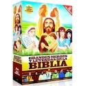 Grandes Héroes y Leyendas de La Biblia PACK de dibujos animados religiosos para niños