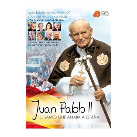 Juan Pablo II: el Santo que amaba a España DVD video sobre el Papa
