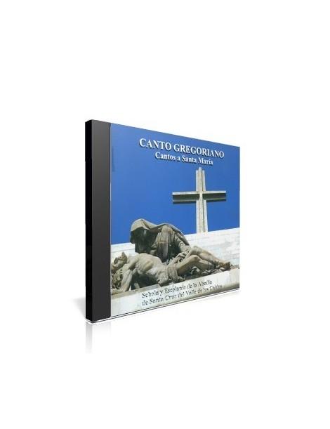 Canto Gregoriano: Cantos a Santa María CD de música religiosa