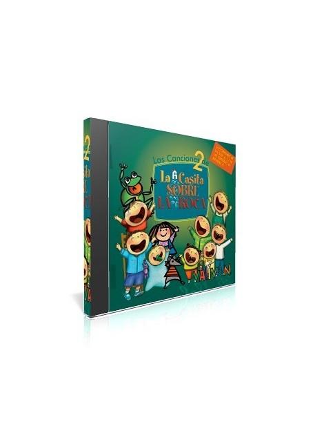 Canciones de La Casita sobre la Roca CD-2 música religiosa para niños
