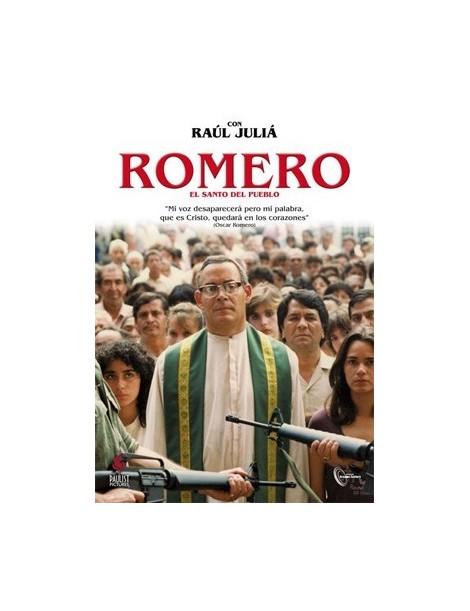 Película en DVD ROMERO: EL SANTO DEL PUEBLO