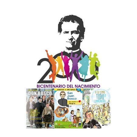 Pack DON BOSCO (200 Aniversario)
