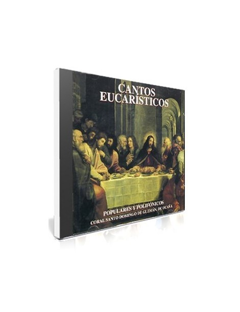CANTOS EUCARISTICOS - CD MÚSICA